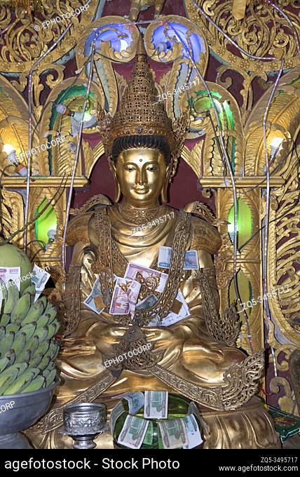 Myanmar: Bagan- Mount Popa- Maitreiya in Padmasana