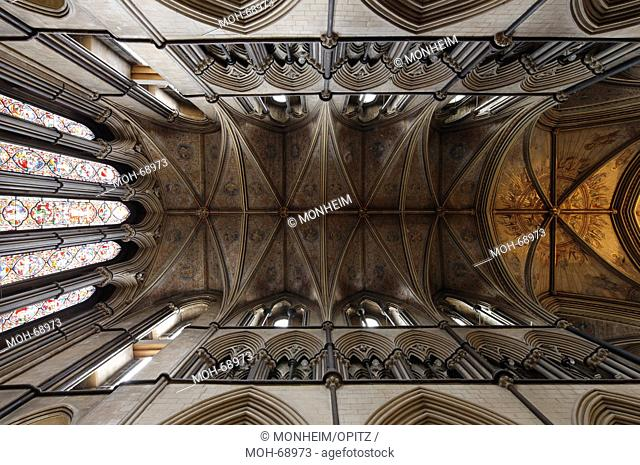 Lady Chapel, Blick ins Gewölbe