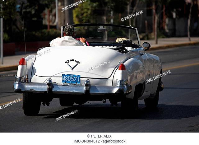 Cuba, Varadero, car