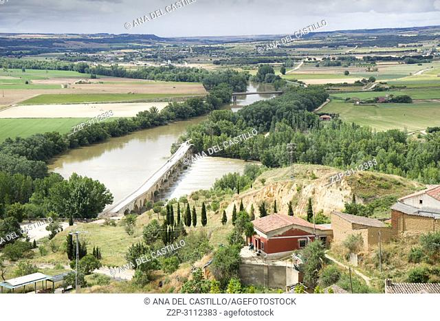 Toro city in Zamora province Castile Leon Spain. Duero river
