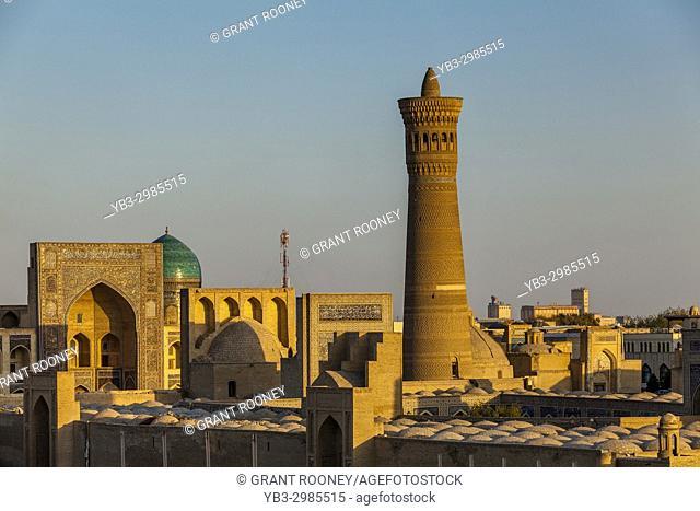 The Skyline Of The Historic Centre Of Bukhara, Uzbekistan