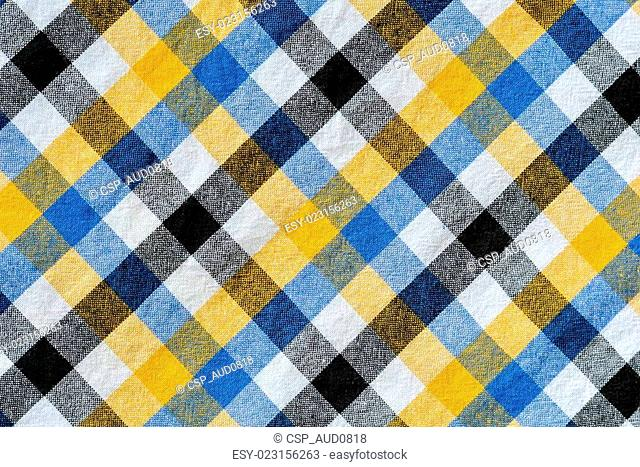 plaid linen background