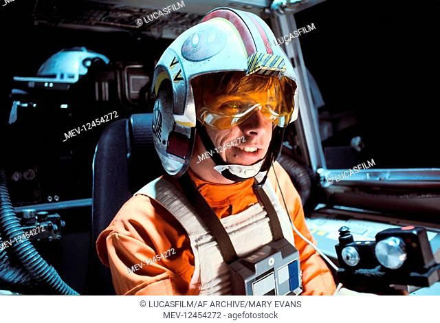 Mark Hamill Characters Luke Skywalker Film Star Wars Star Wars Episode Iv A New Hope Usa Stock Photo Picture And Rights Managed Image Pic Mev 12454272 Agefotostock