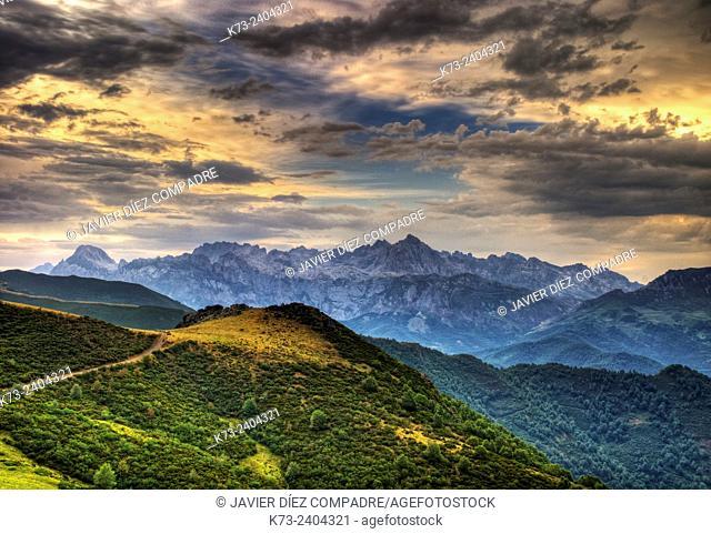 Collado de Llesba. Picos de Europa National Park. Cantabria. Spain