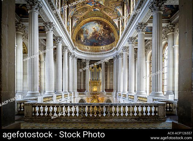 Royal Chapel in Versailles palace