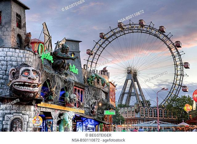 big wheel in Vienna Prater, Austria