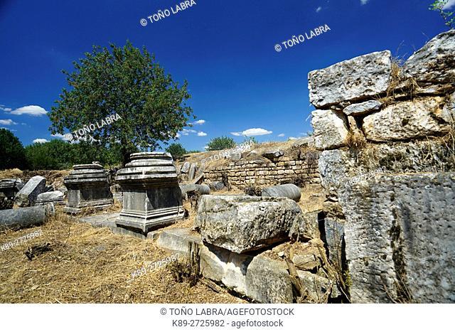 Martyrs' Church. Aphrodisias. Ancient Greece. Asia Minor. Turkey