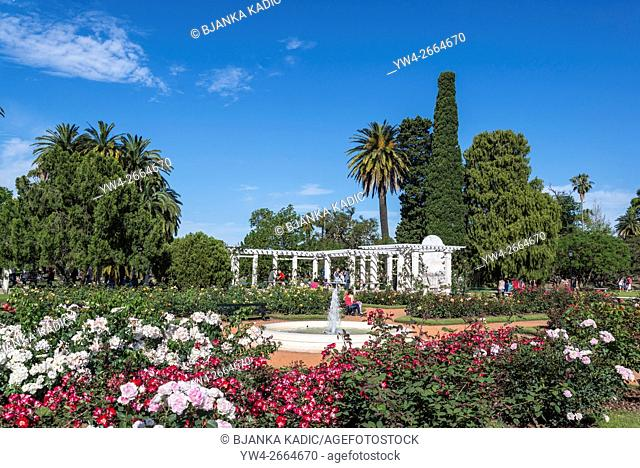 Rose Garden, Rosedal, Buenos Aires, Argentina