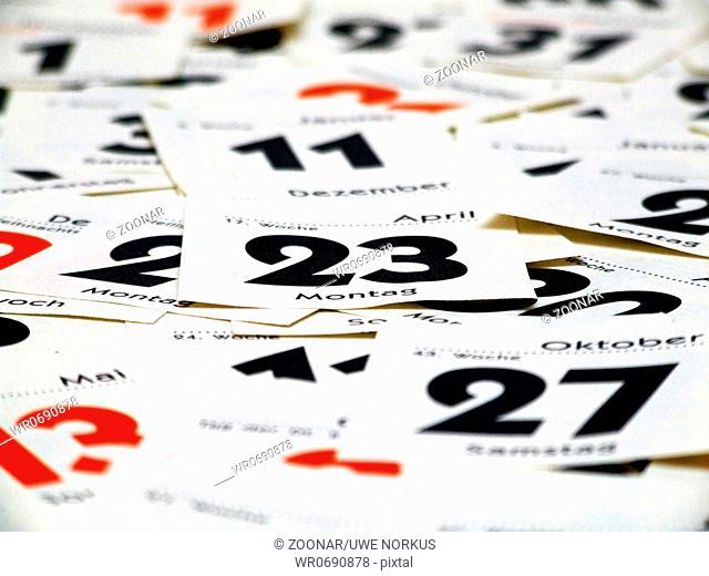 sheet calendar