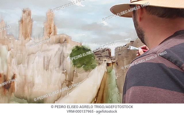 Concurso de pintura de la ciudad de Lugo
