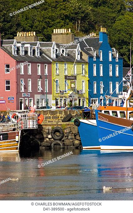 UK, Great Britain, Scotland, Strathclyde, Isle of Mull, Tobermory