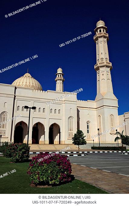 Sultan Qaboos Moschee, Friday mosque, Salalah, Oman