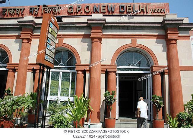 New Delhi, India: the General Post Office