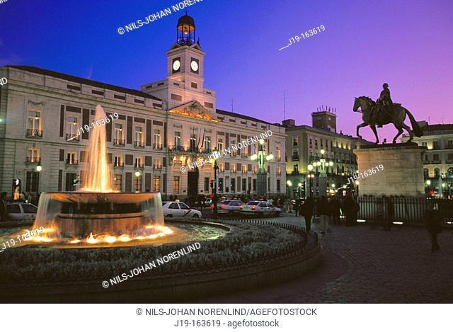 Puerta del Sol. Madrid. Spain