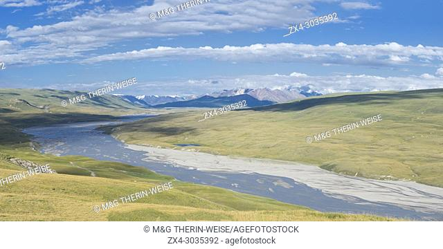 River in the Sary Jaz valley, Issyk Kul region, Kyrgyzstan