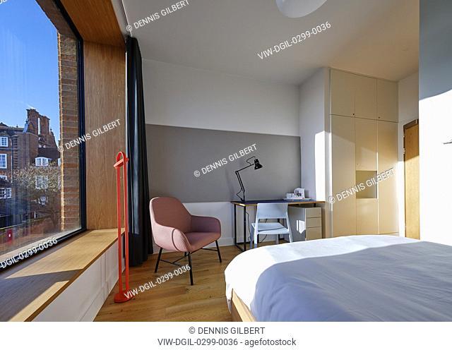 Student accommodation. Newnham College, Cambridge, Cambridge, United Kingdom. Architect: Walters and Cohen Ltd, 2018