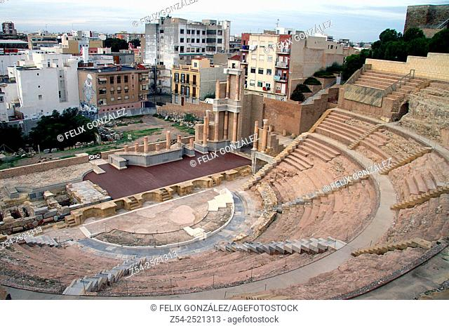 Roman Amphitheater, Cartagena, Murcia, Spain