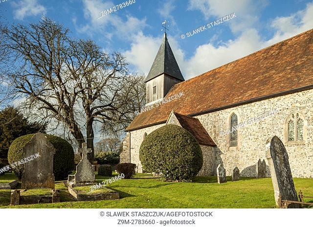 Exton village church, Hampshire, England