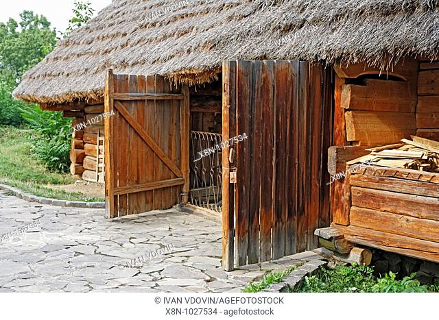 Museum of folk architecture and folkways, Uzhhorod, Zakarpattia Oblast Transcarpathian Oblast, Transcarpathia, Zakarpattya, Subcarpathian Rus, Ukraine