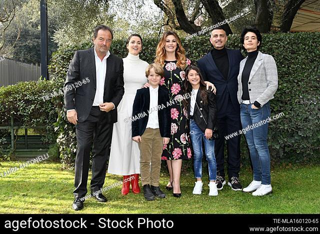 Cast : Sebastiano Somma, Eleonora Giovanardi, Vanessa Incontrada, Tancredi Testa, Crystal Deglaudi, Simone Montedoro, Annalisa Insarda' during the photocall of...