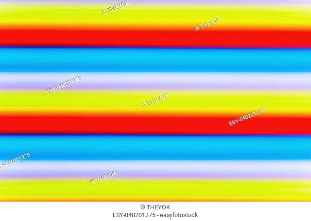 Texture of colorful drinking straws