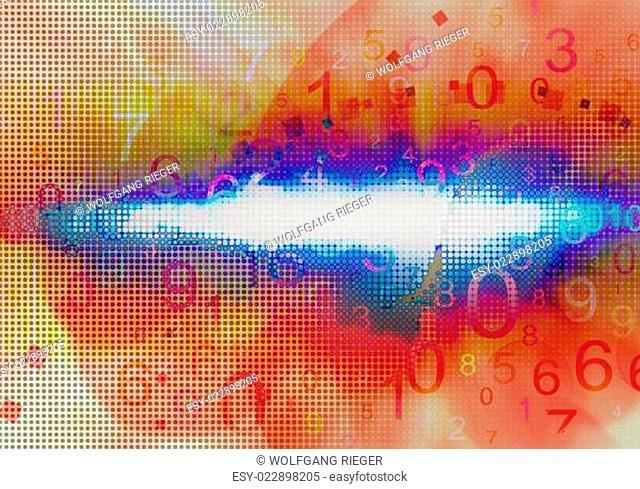 abstrakt-technologie-reaktion