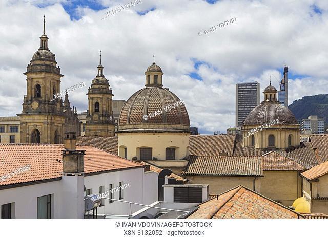 Historical centre, Bogota, Colombia