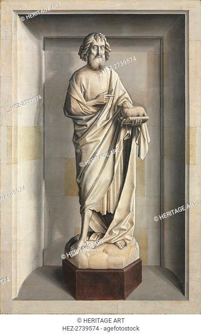 Saint John the Baptist, c. 1475-1485. Creator: Dieric Bouts (Netherlandish, 1415-1475), circle of