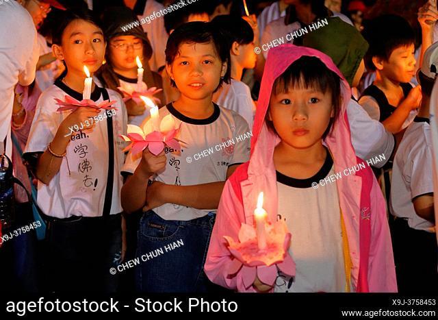 Wesak Day Celebration in Kuching, Sarawak, Malaysia