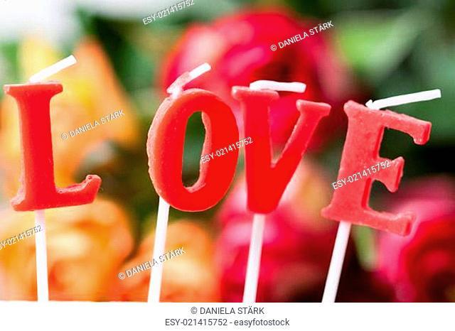 beautiful hintergrundbils with love lettering
