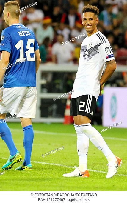 Mainz, Germany June 11, 2019: Laender match 2019 - European Championship Qualifier - Germany vs. Germany. Estonia Thilo Kehrer (Germany), action