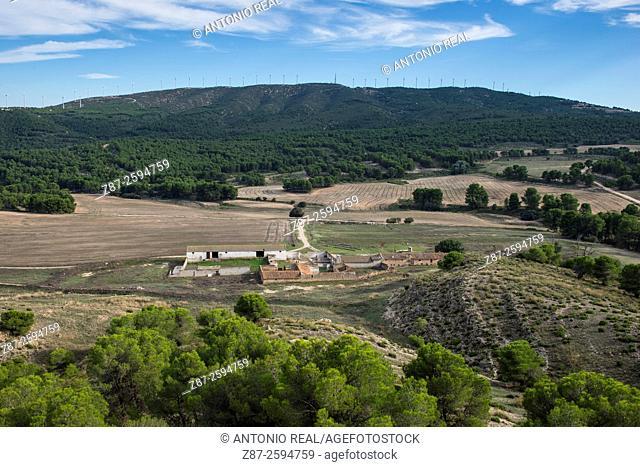Paraje de Olula and Sierra de la Oliva, Almansa, Albacete province. Spain