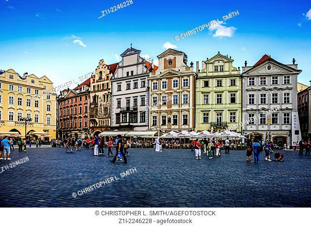 Staromestska (Old Town) Square Prague