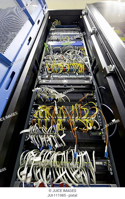 Server cabinet in data centre