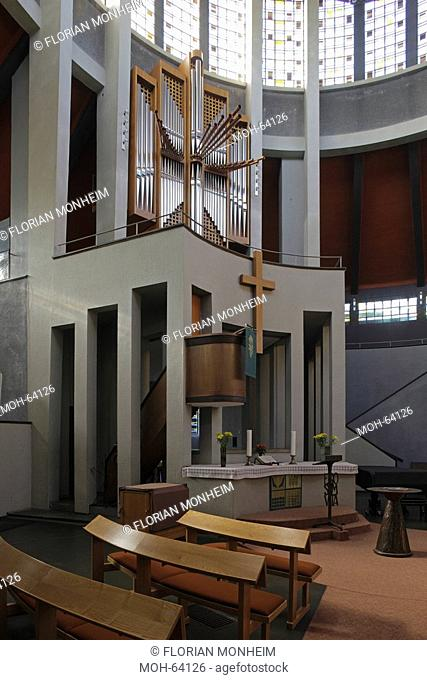 Essen, Evangelische Auferstehungskirche Rundkirche 1930