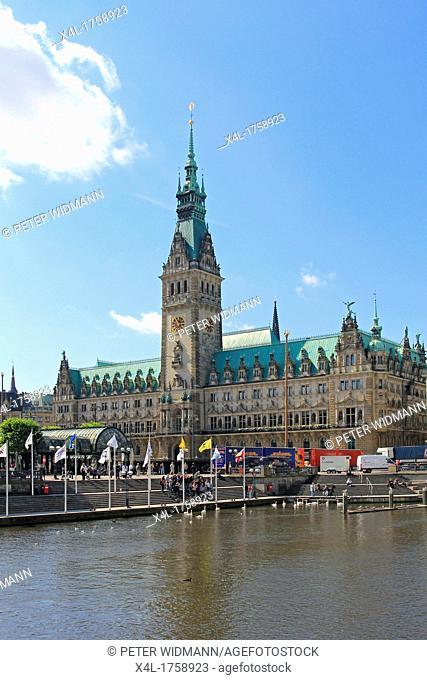 Germany, Hanseatic City Hamburg, city hall