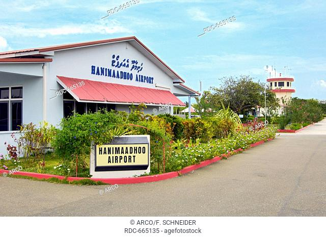 Hanimaadhoo Airport, Hanimadhoo Island, Haa Dhaalu Atoll, Maldives, Asia / Hanimaadhoo