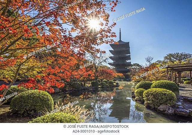 Japan , Kyoto City, To-Ji Temple