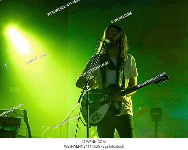BBC Radio 1's Big Weekend - Performances - Day 1 - Tame Impala Featuring: Tame Impala, Kevin Parker Where: Exeter, United Kingdom When: 28 May 2016 Credit: WENN