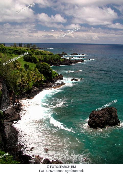 Hana Highway, Maui, HI, Hawaii, Hana Coast, Highway 360, East Maui, North Shore, Hamoa Beach