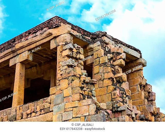 part of Great architecture ancient Gangaikonda Cholapuram Temple