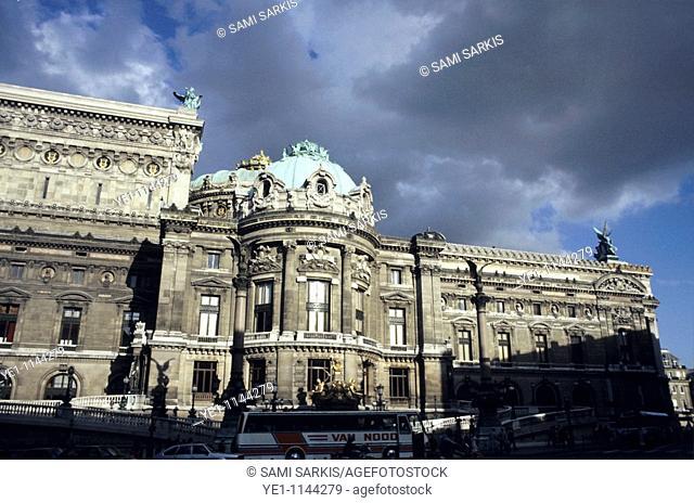 France paris the garnier opera house