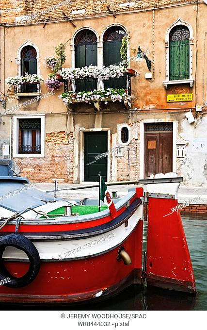Boat in Canal