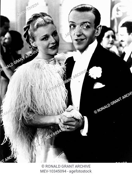 Top Hat Us 1935 Ginger Rogers And Fred Astaire During The Dancing Cheek To Cheek Sequence Stock Photo Picture And Rights Managed Image Pic Mev 10345094 Agefotostock
