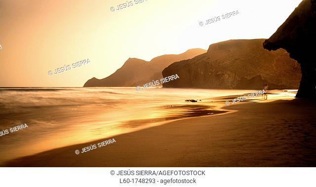 Monsul beach, Cabo de Gata, Almería, Andalucia, Spain