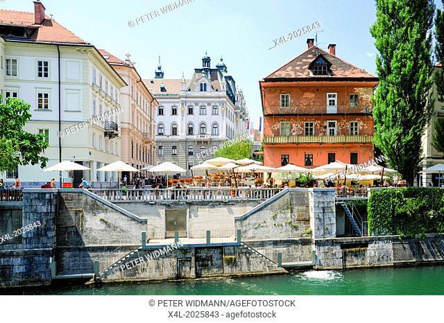 Ljubljana, old town, Slovenia