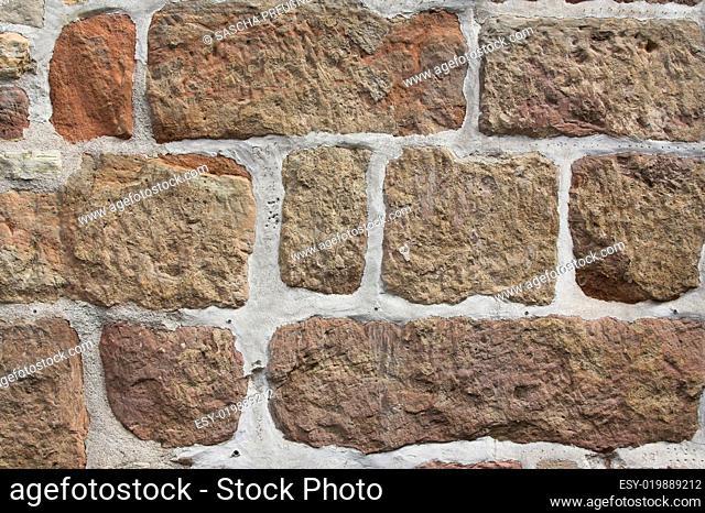 Fassade Sandsteine