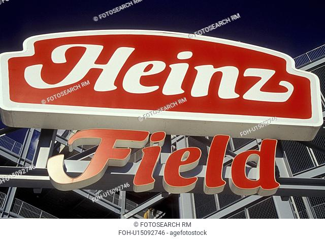 PA, Pittsburgh, Pennsylvania, Heinz Field, Pittsburgh Steelers, football stadium, entrance sign