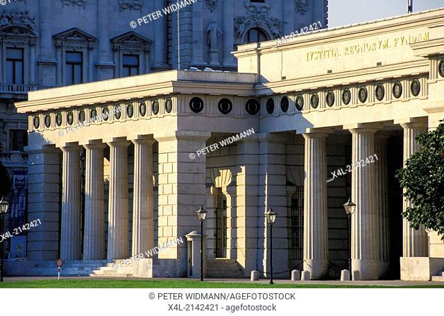 Hofburg entrance, Austria, Vienna