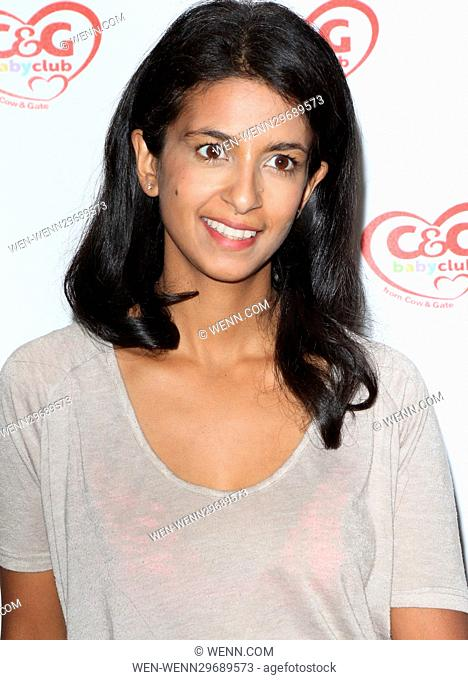 Guests attend the C&G Baby Club 'The Happy Song' Launch Event at Ham Yard Hotel in Soho Featuring: Konnie Huq Where: London